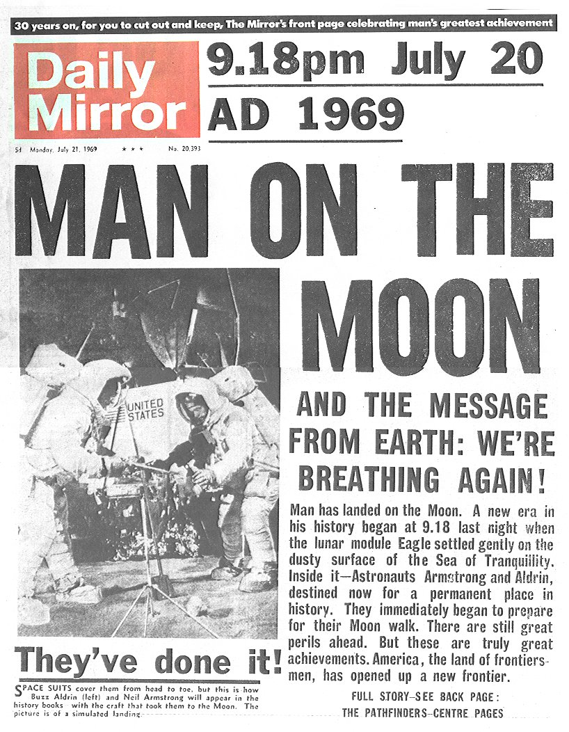 moon landing article - photo #3